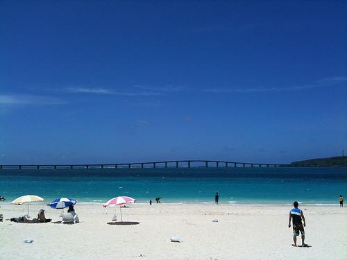 【沖縄】宮古島の与那覇前浜ビーチ